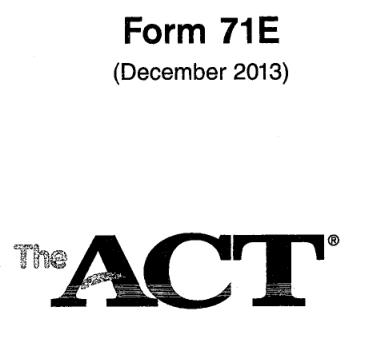 ACT71E