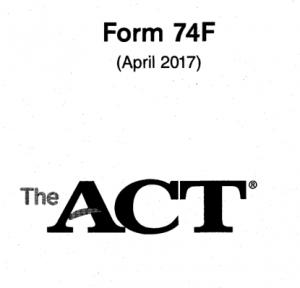 ACT74F2017